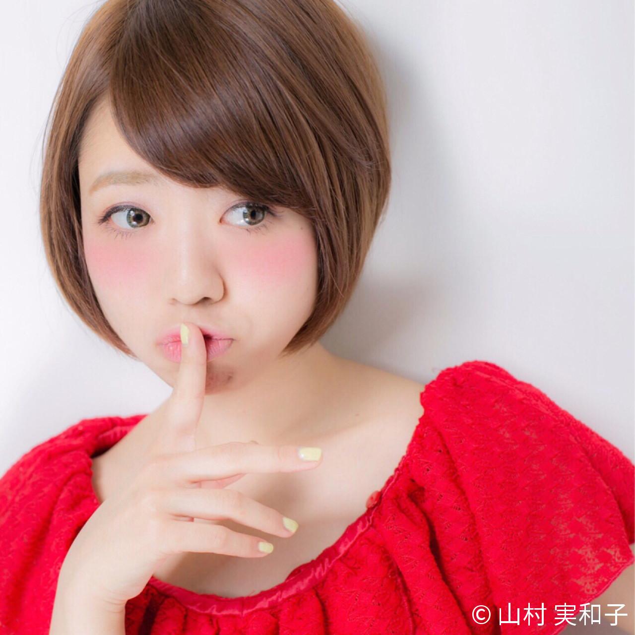 前髪横流しであま~い雰囲気を誘って♡ 山村 実和子✂️ Euphoria渋谷グランデ