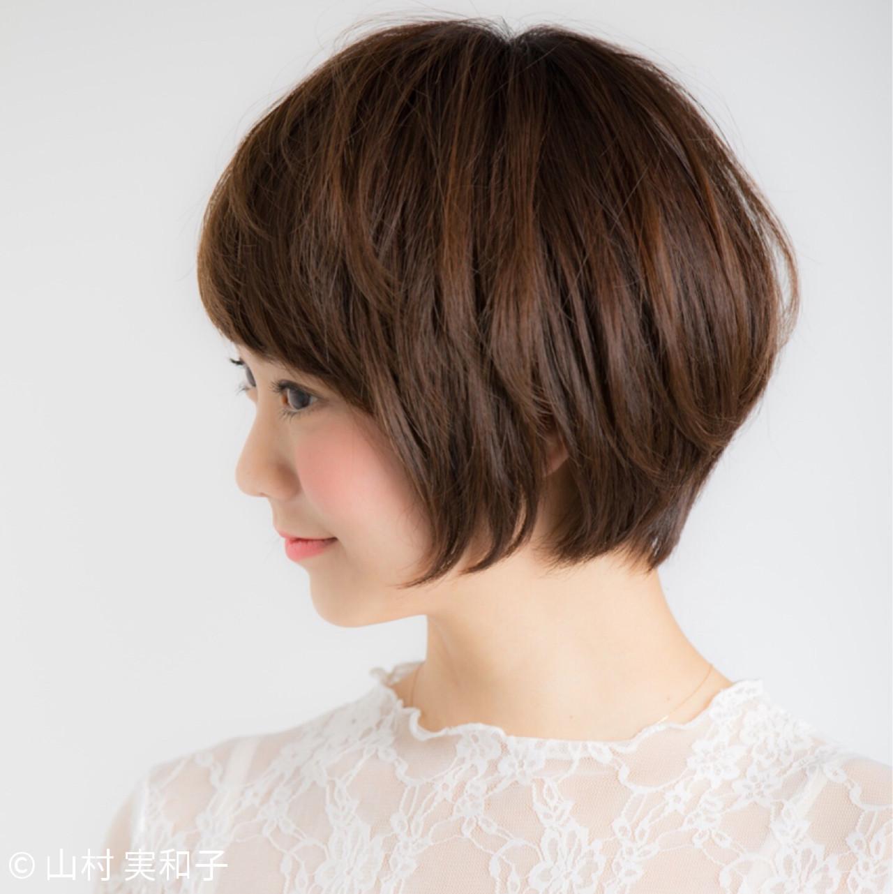 丸いフォルムの優しい雰囲気ショートヘア♡ 山村 実和子✂️ Euphoria渋谷グランデ