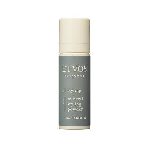 髪に優しい「ETVOS ミネラルスタイリングパウダー 6g」