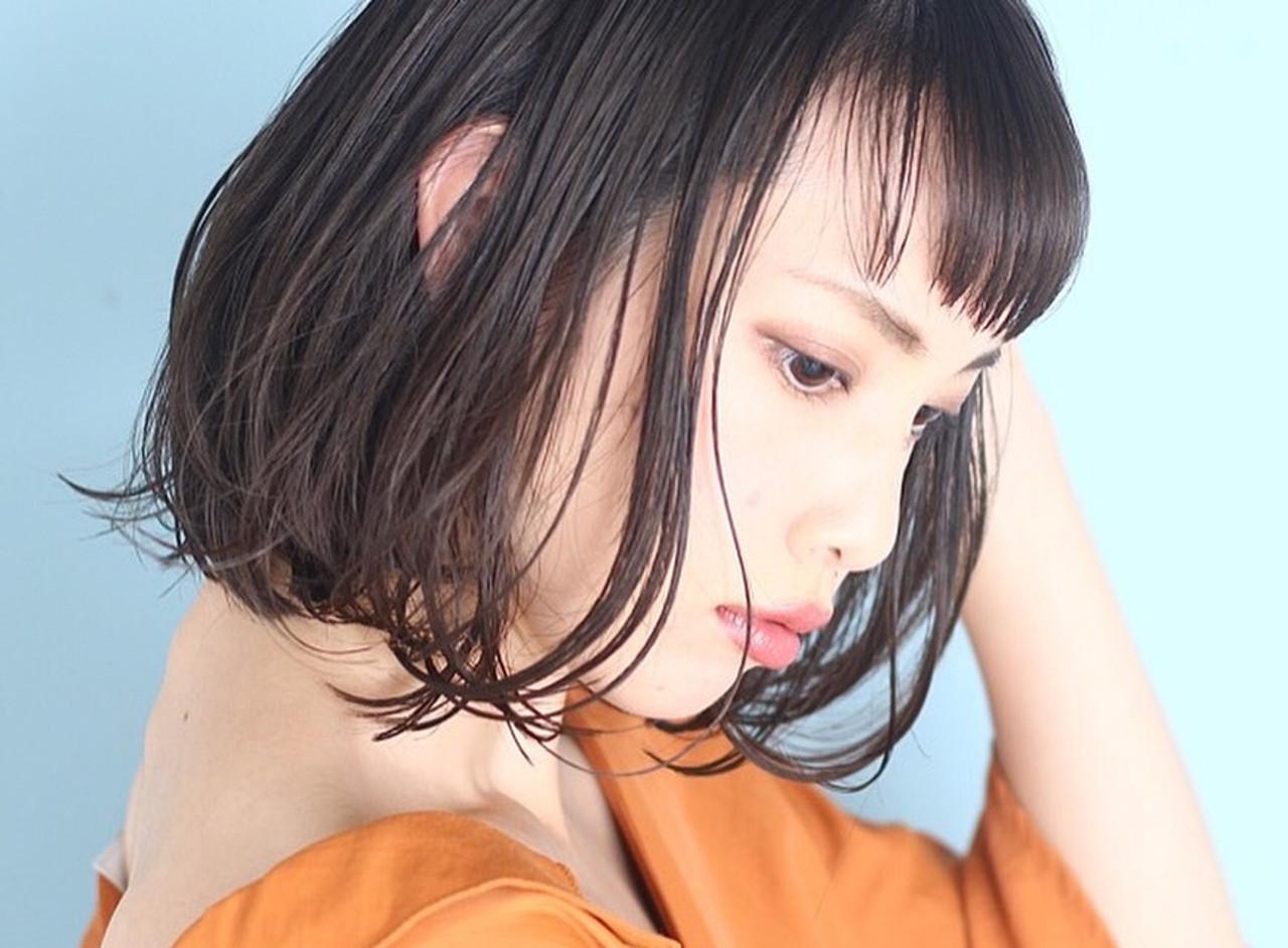 艶感溢れる大人可愛いボブのイルミナカラー 吉田秀晃BEAUTRIUM GINZA