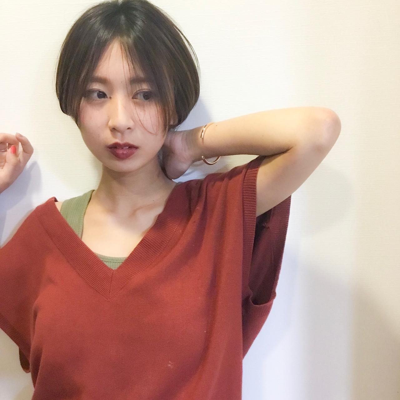 大人女子だから楽しめるハンサムショートのイルミナカラー 松岡 ゆかhair design CRAFT