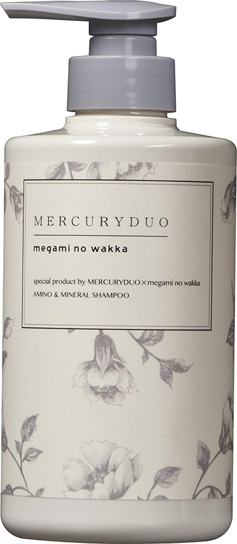 香りが繊細に変化「MERCURYDUO SHAMPOO シャンプー 480ml MERCURYDUO × megami no wakka (マーキュリーデュオ × 女神のわっか) 」