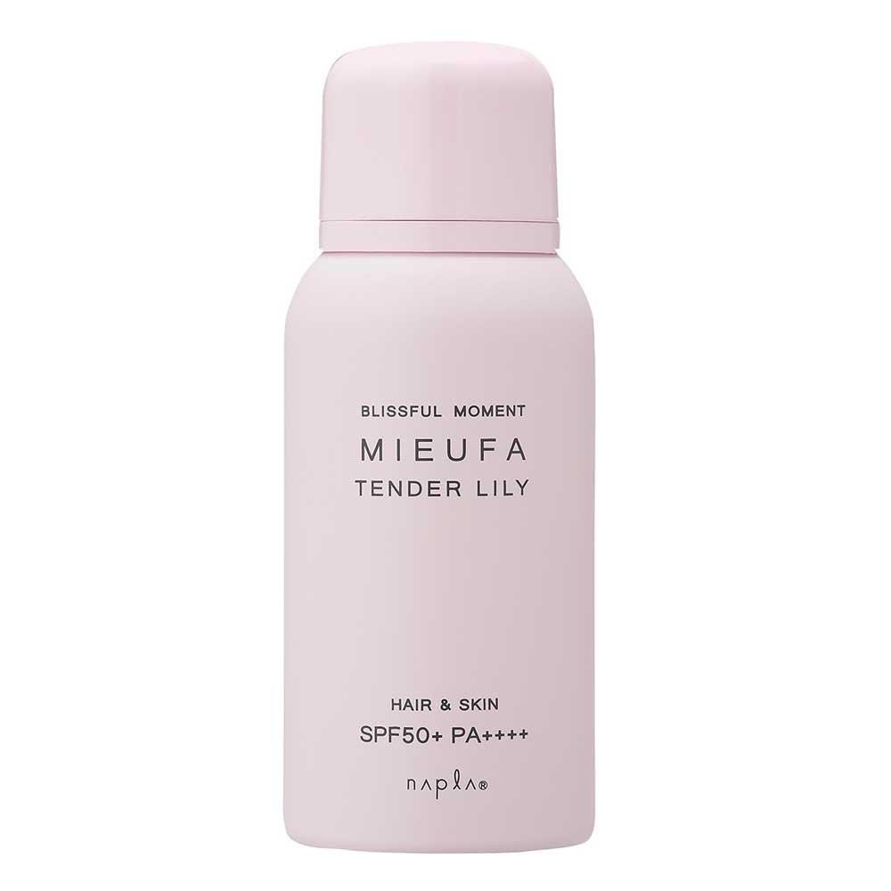 上品なリリーの香り「ナプラ ミーファ フレグランス UVスプレー テンダーリリー 80g」