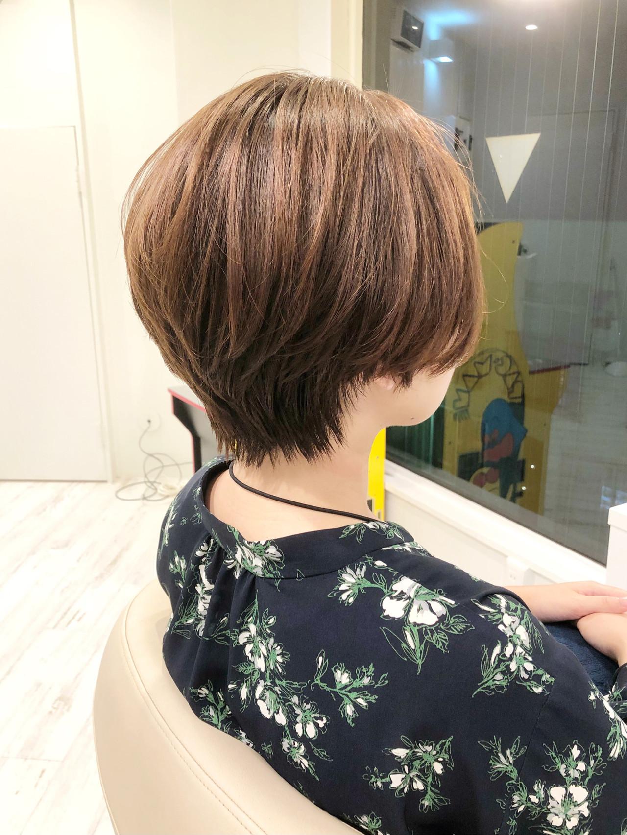 ナチュラルに大人可愛いショートのイルミナカラー 伊藤 悟史flower,sun&rain