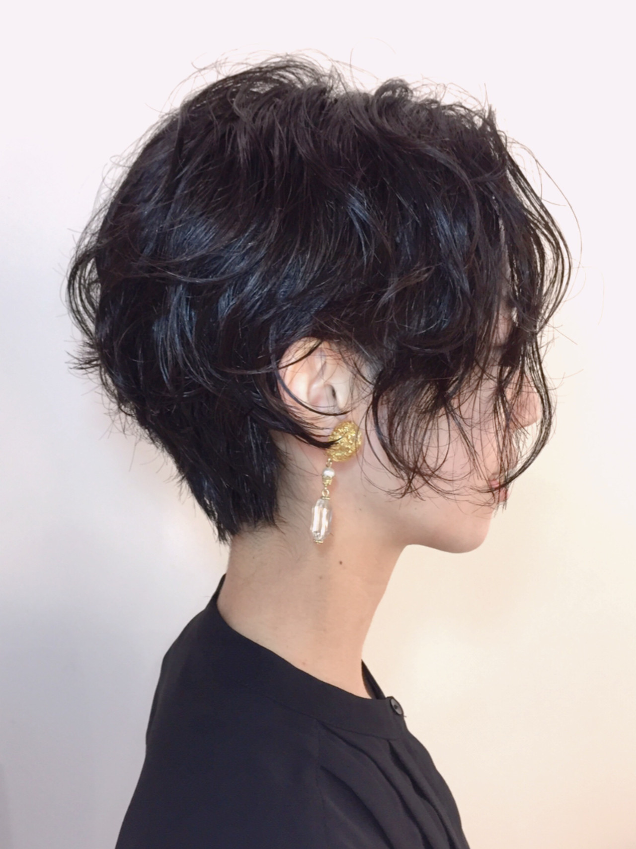 ショート 撮影 パーマ クール ヘアスタイルや髪型の写真・画像