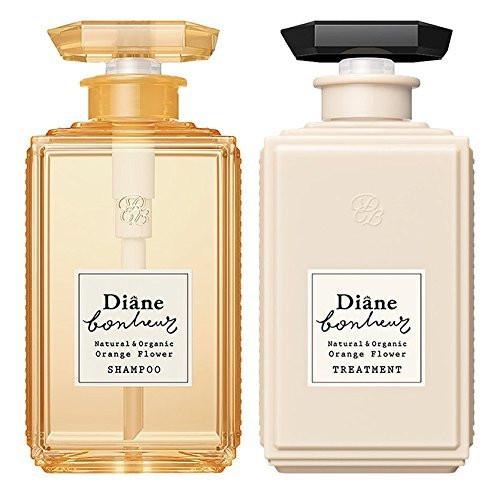 清々しいオレンジの香り「ダイアン ボヌール オレンジフラワーの香り モイストリラックス シャンプー & トリートメント セット 500ml×2」