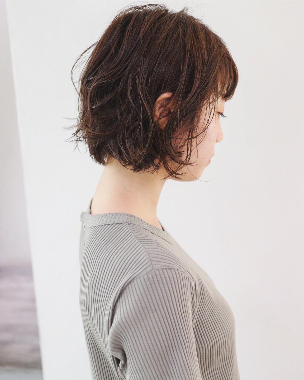 カジュアルなウェット感がおしゃれなシアバターのボブスタイリング 三好 佳奈美Baco.(バコ)