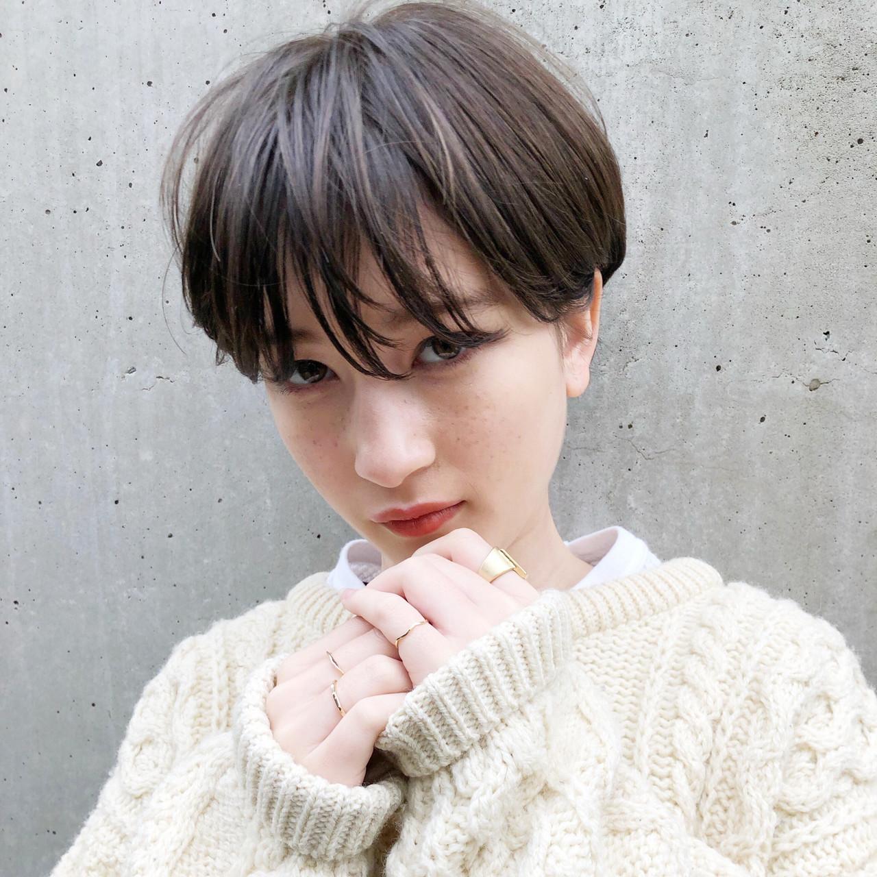 ショート ガーリー ショートヘア ベリーショート ヘアスタイルや髪型の写真・画像