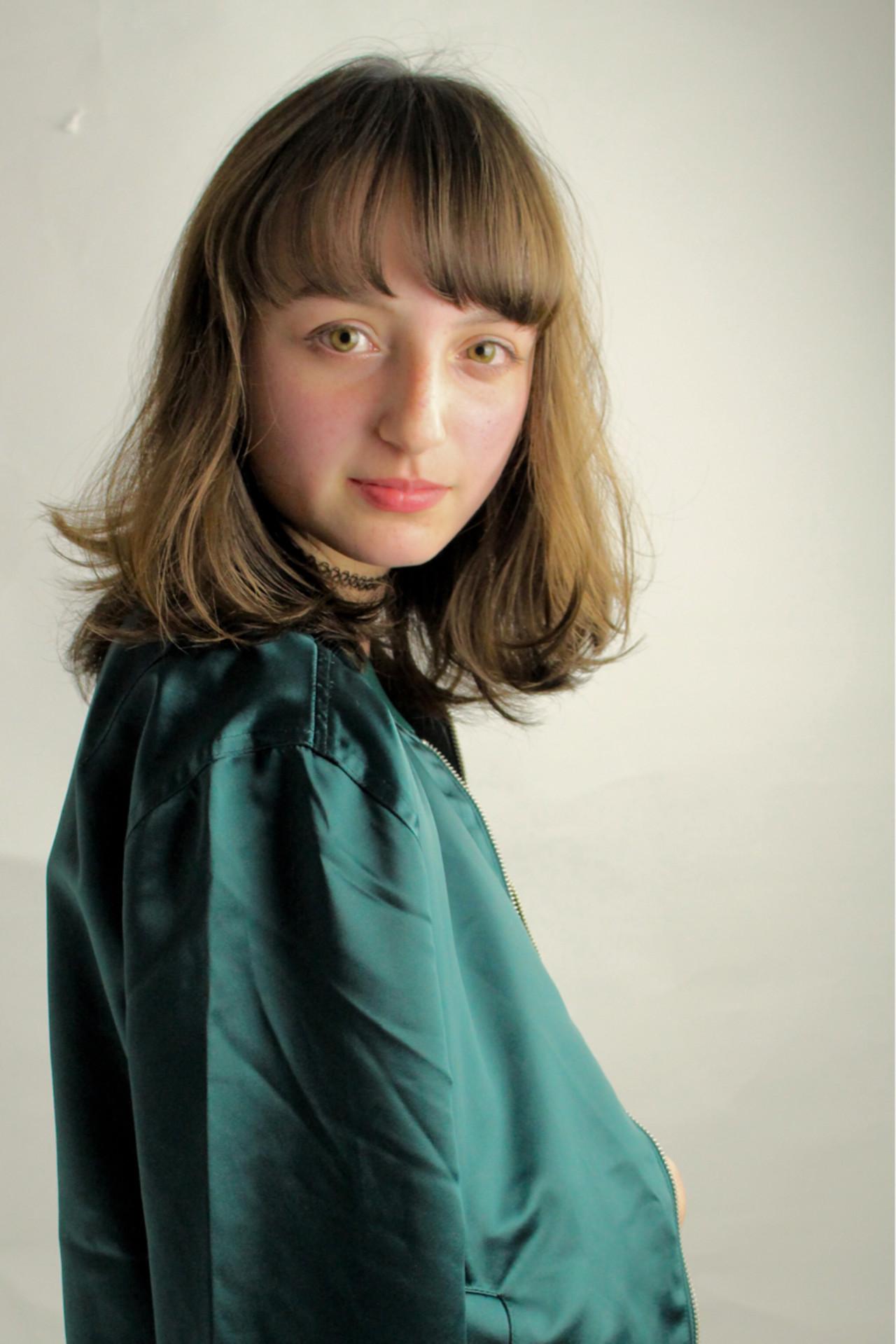 フェミニン ボブ ベース型 ストリート ヘアスタイルや髪型の写真・画像