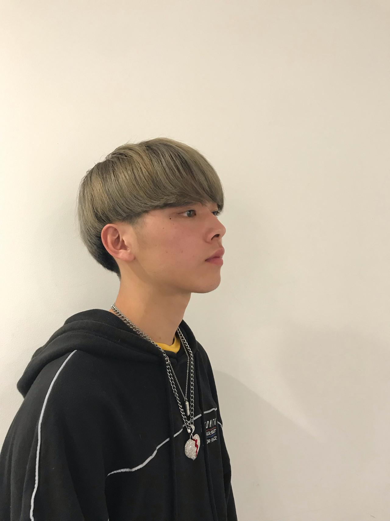 メンズヘア ショート メンズマッシュ 刈り上げ ヘアスタイルや髪型の写真・画像
