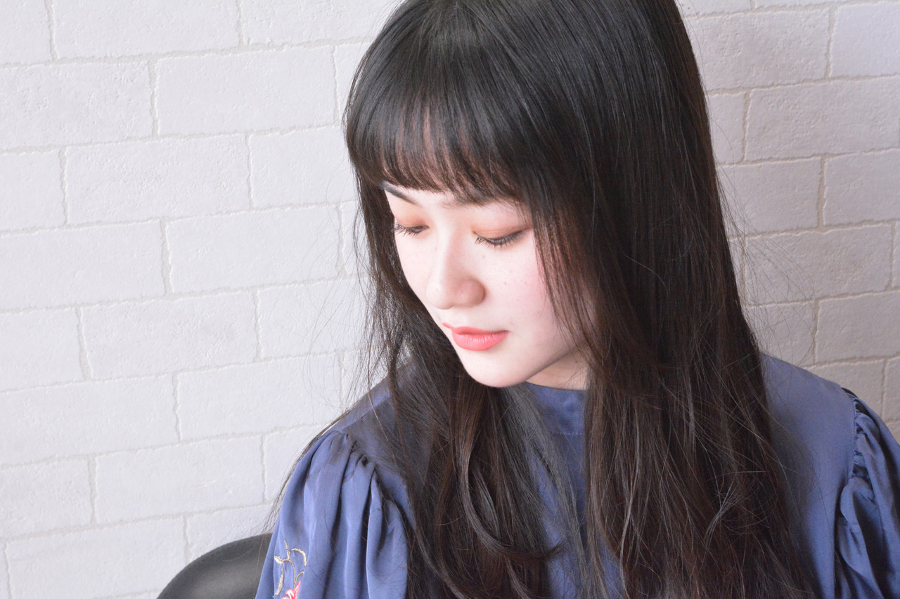 髪質改善 ロング フェミニン 髪質改善トリートメント ヘアスタイルや髪型の写真・画像