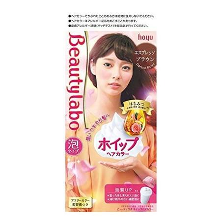 ホーユー ビューティラボ ホイップヘアカラー(エスプレッソブラウン) 1剤40g+2剤80mL+美容液5mL