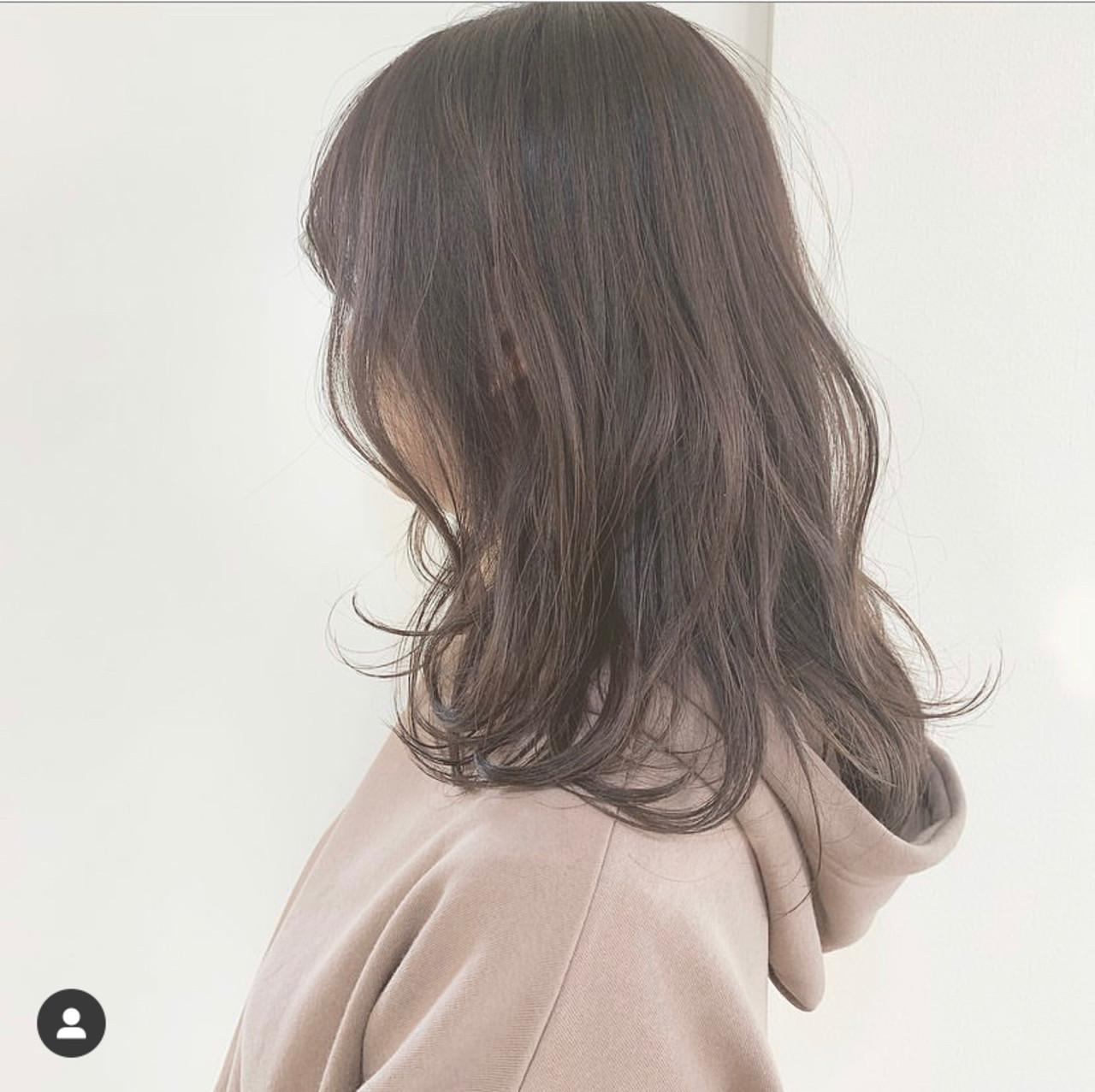 ブラウンベージュ ふんわり 大人可愛い 可愛い ヘアスタイルや髪型の写真・画像