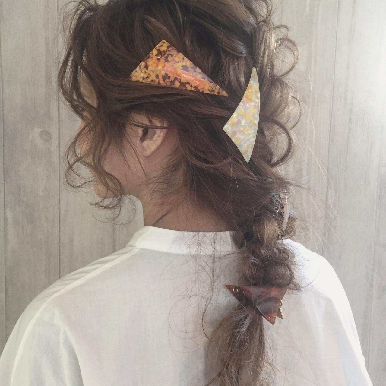 おすすめ髪留めクリップを紹介!簡単ヘアアレンジで違った印象になる☆