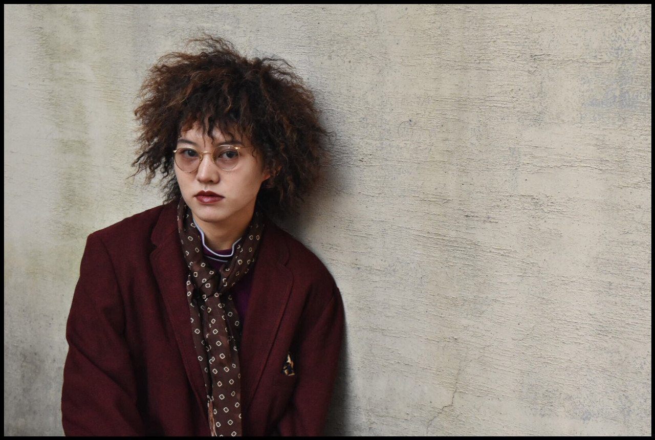 ツイスト パーマ ストリート ボブ ヘアスタイルや髪型の写真・画像
