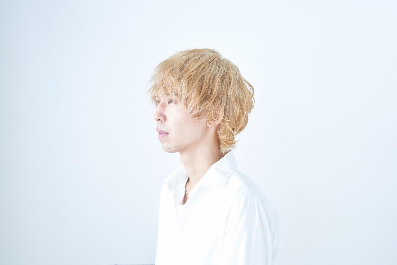 ベージュゴールド ショート ダブルカラー エレガント ヘアスタイルや髪型の写真・画像