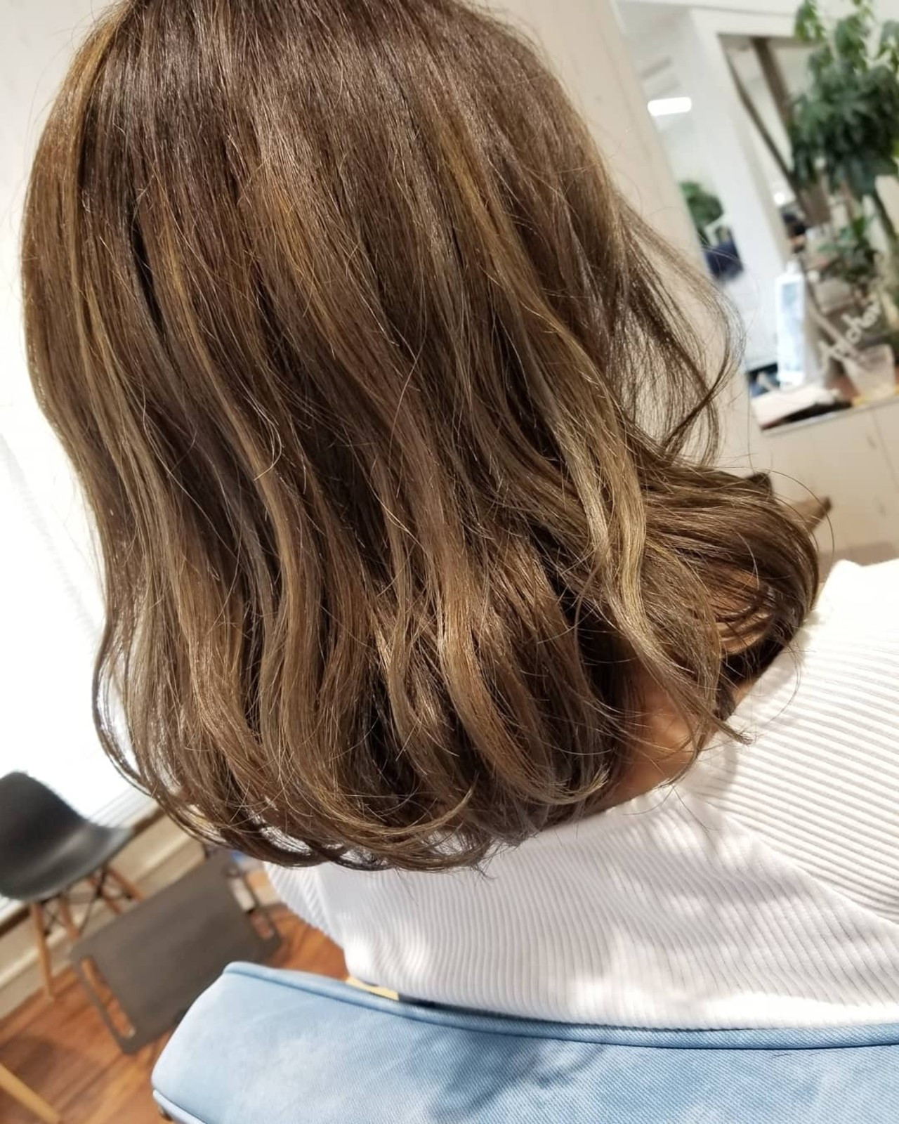 透明感 フェミニン 外国人風 ミディアム ヘアスタイルや髪型の写真・画像