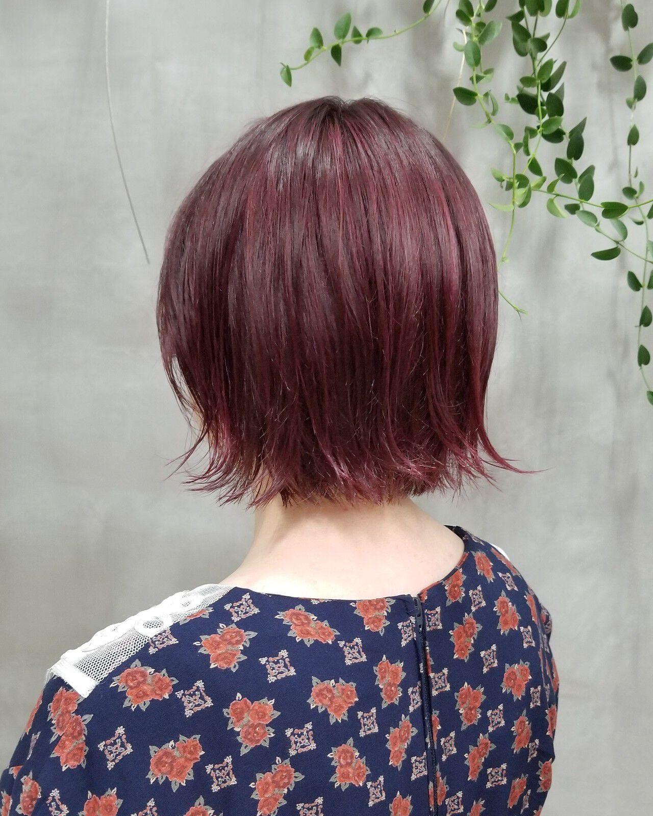 レッド系カラー KANA tetohair  teto hair
