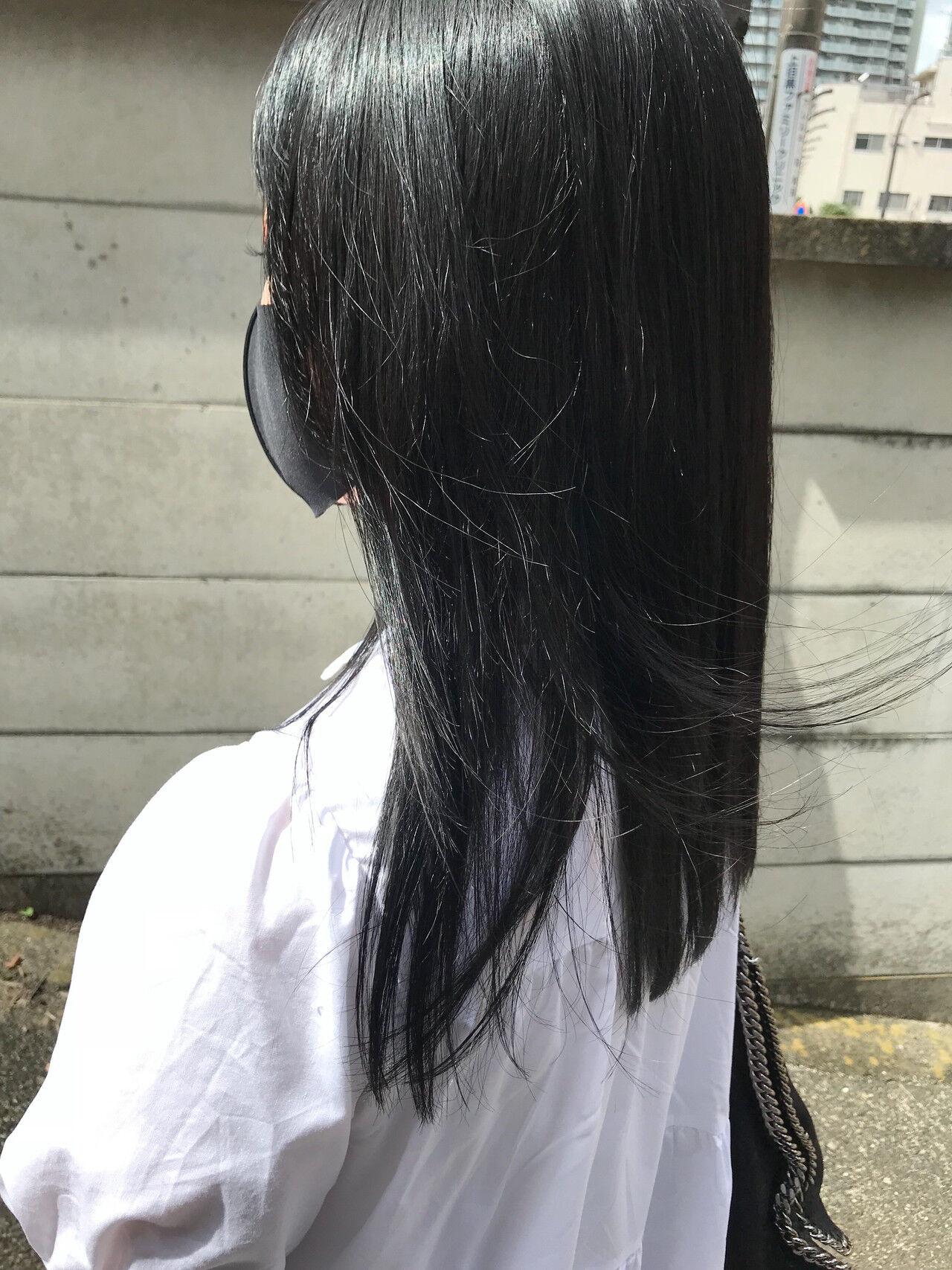 セットはストレートでモードに... 前野裕介  enne hair&organic