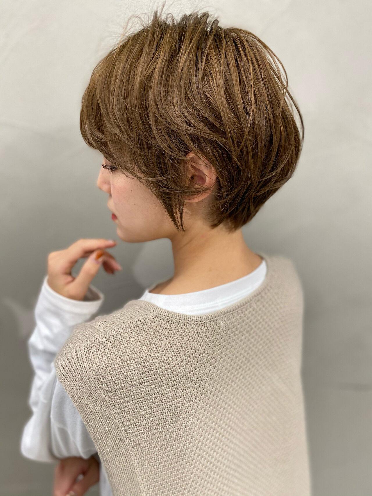 マッシュショートの魅力 オカモト ナツキ/ショートヘア  Neolive susu
