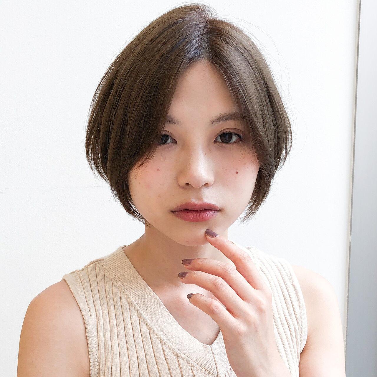30代のショートヘアは 艶髪マスター/上遠野裕樹/カトオノヒロキ  Agnos青山