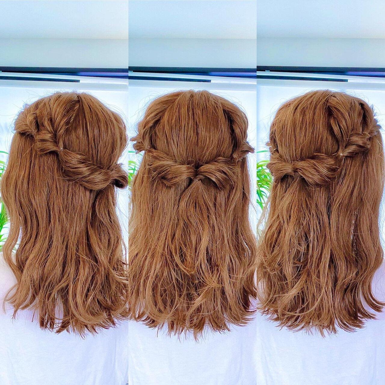 ダウンスタイルのくるりんぱ 美容師HIRO/Amoute代表  Amoute/アムティ