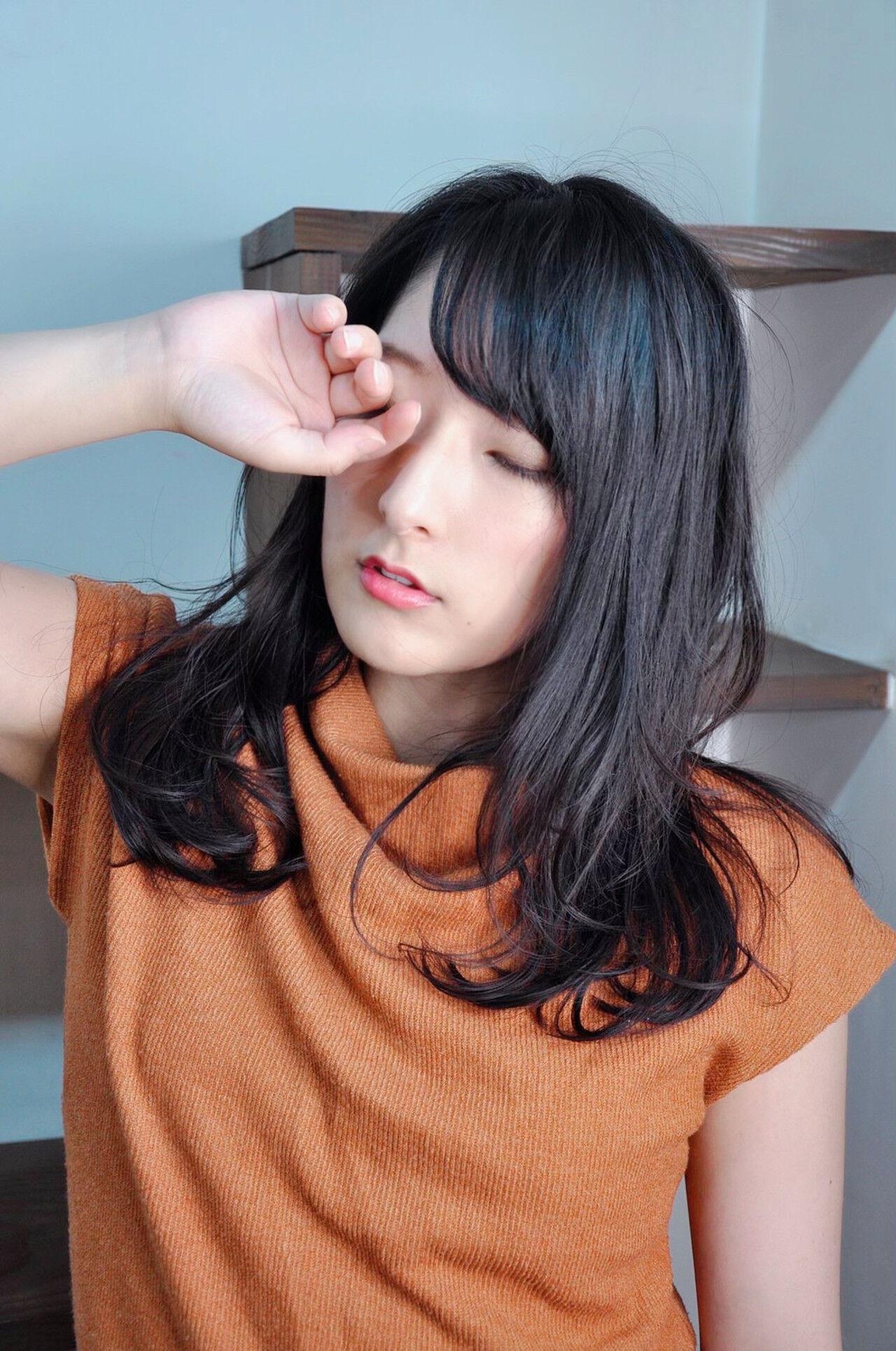 七条彩華/ヘアモデル