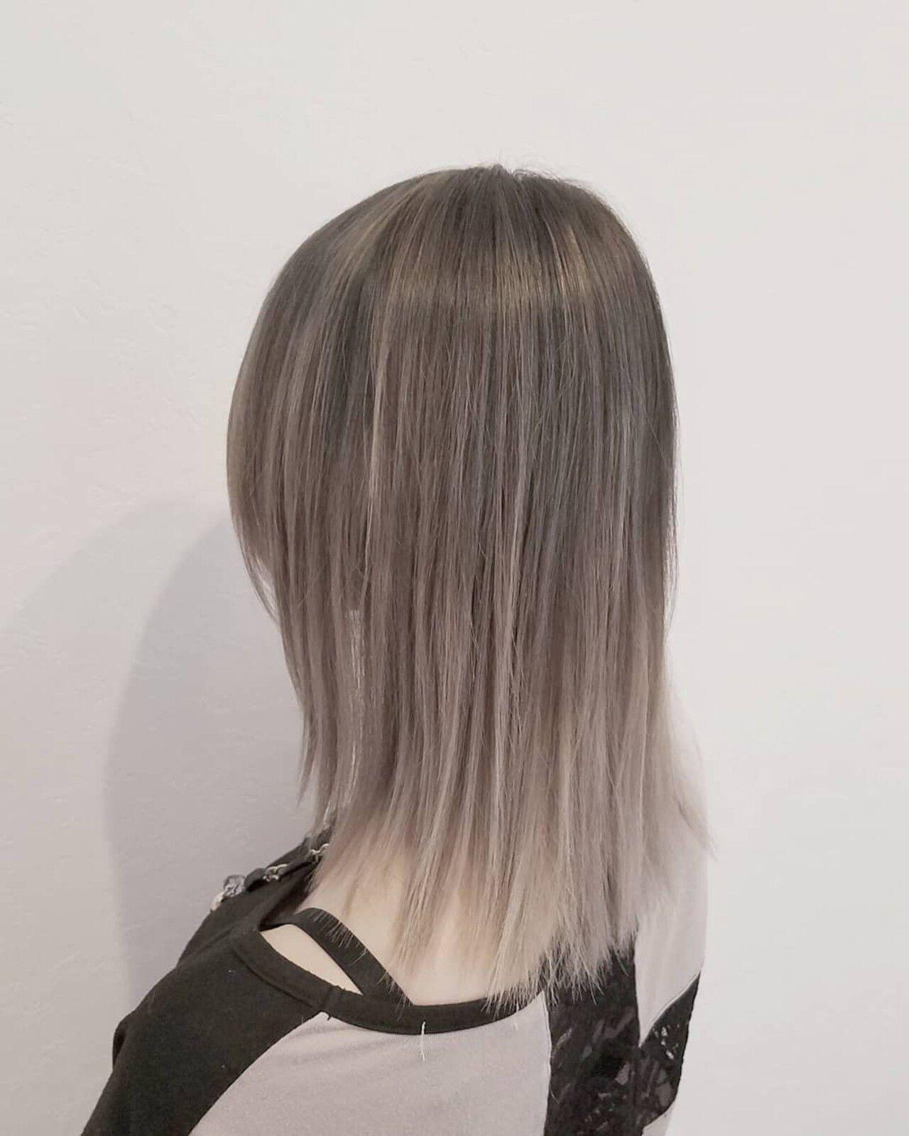 もちろんストレートヘアも 浅原 有輝  rough