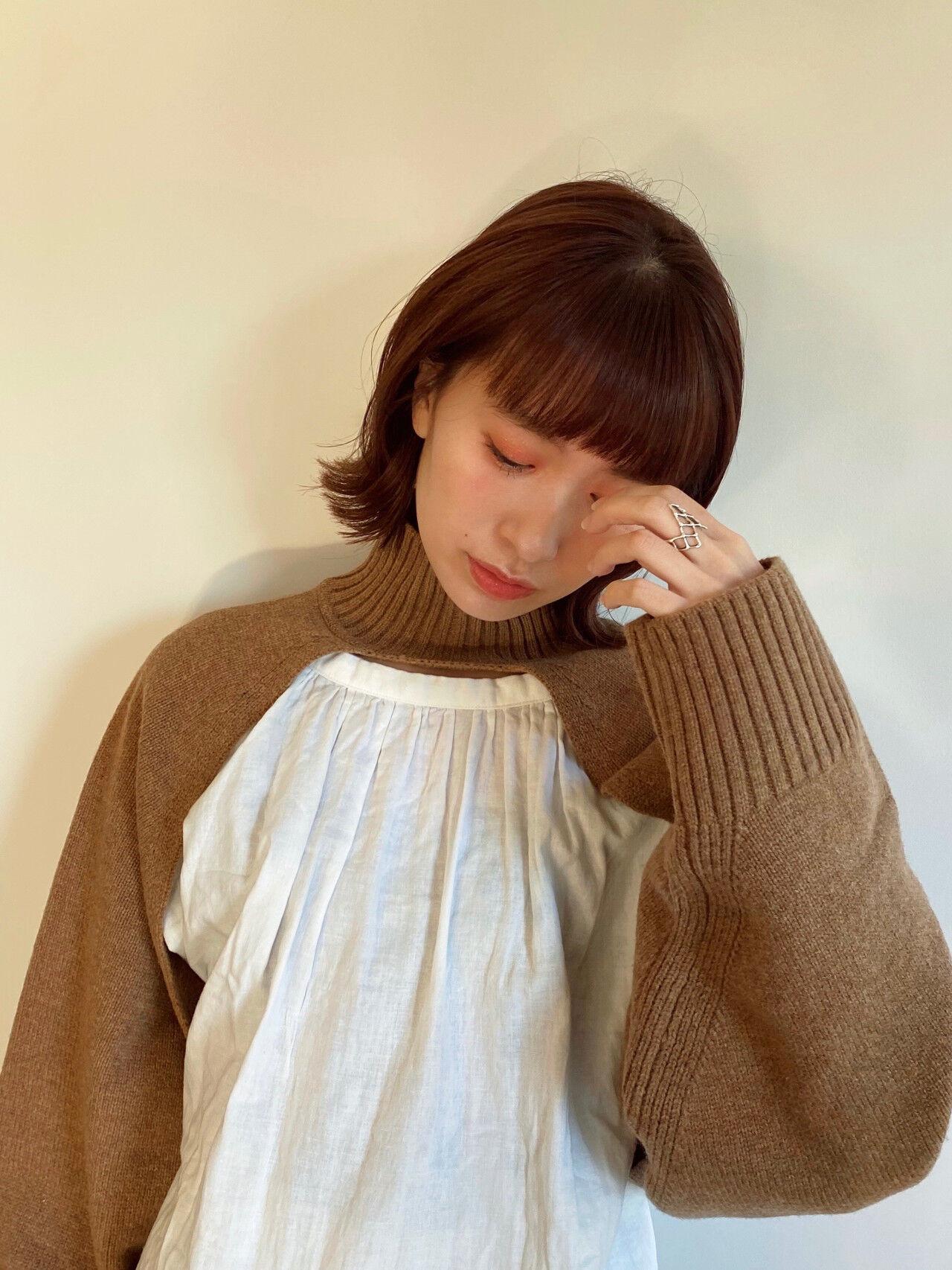 長持ちするカラー①ブラウン系 Gigi 鹿間真悠子  Gigi 表参道