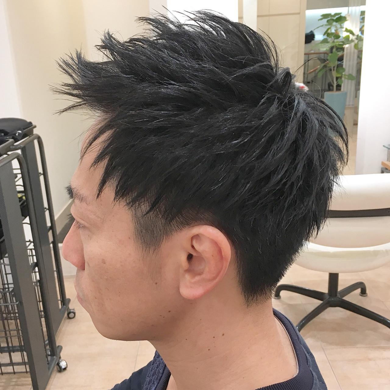 メンズショート ナチュラル メンズ メンズヘア ヘアスタイルや髪型の写真・画像