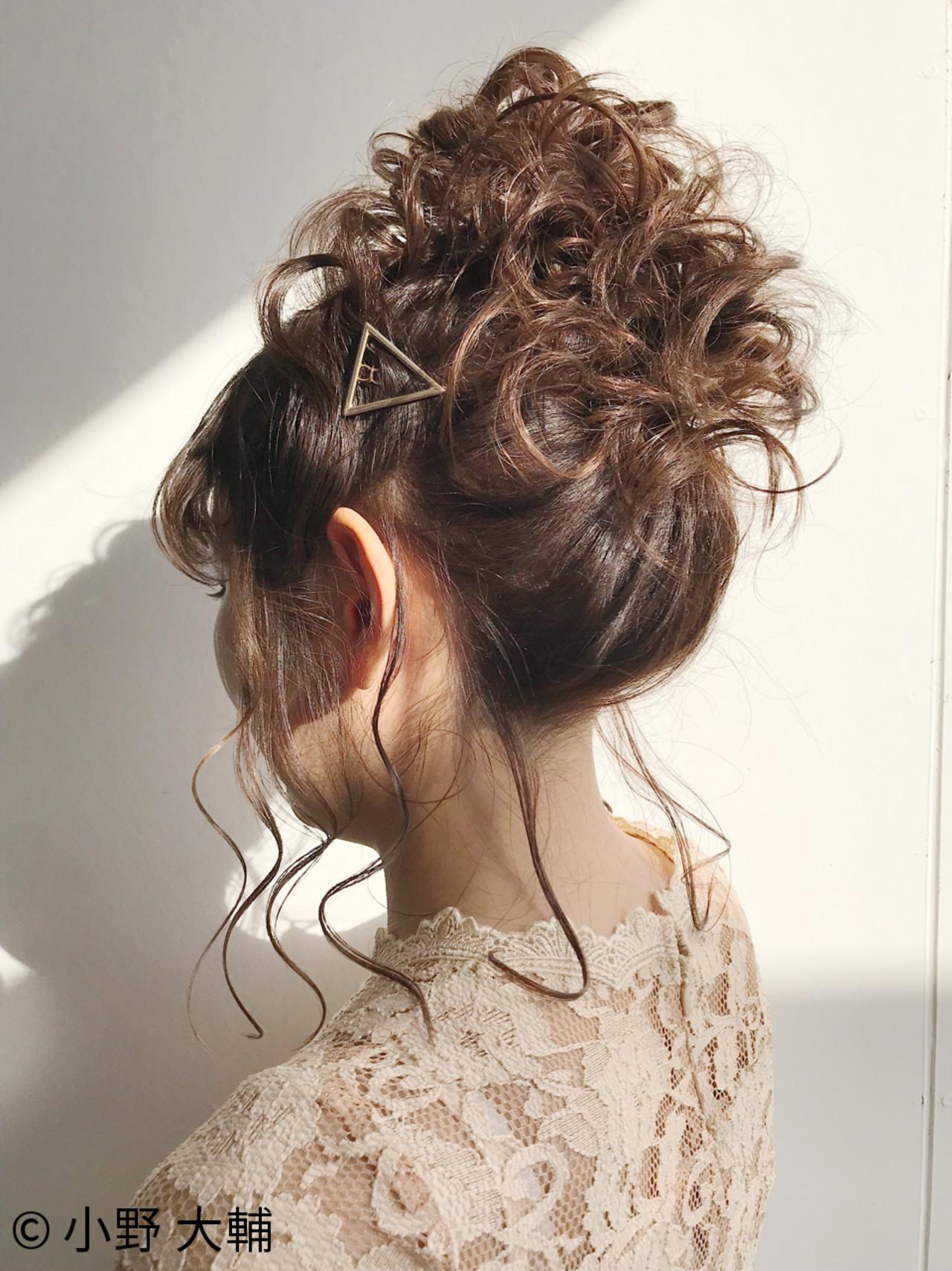 お団子 ヘアアレンジ 愛され 結婚式 ヘアスタイルや髪型の写真・画像