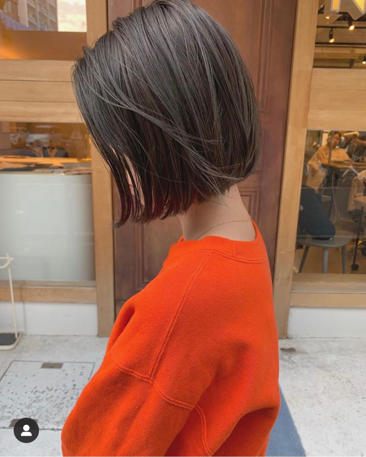 ボブ ショートボブ ショートヘア ベリーショート ヘアスタイルや髪型の写真・画像