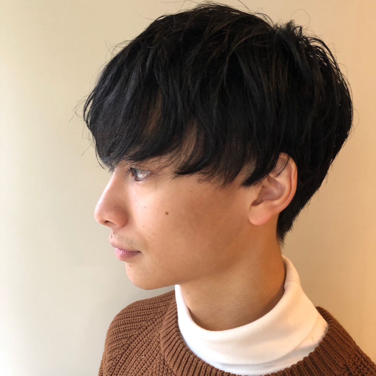 メンズマッシュ モード メンズカット メンズカジュアル ヘアスタイルや髪型の写真・画像