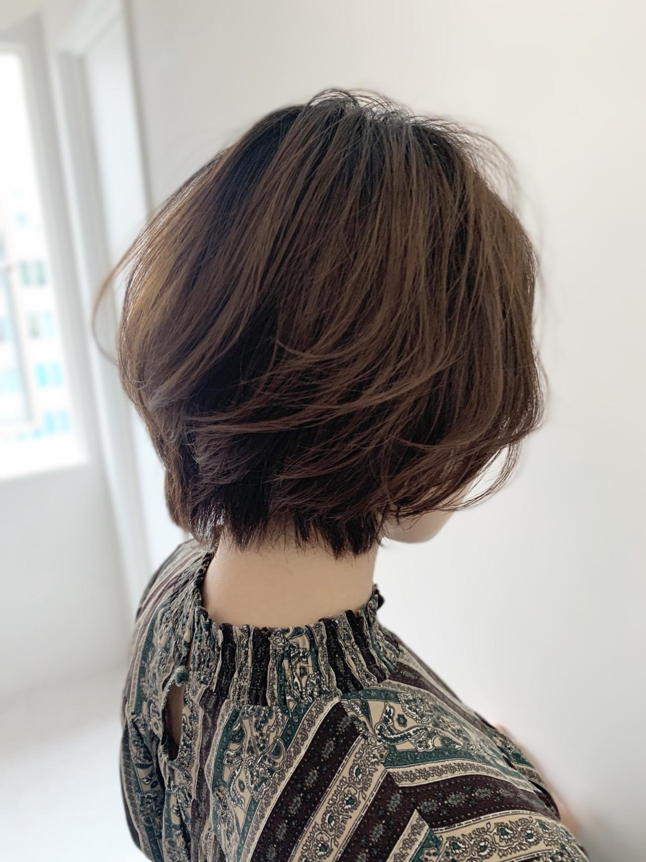 ナチュラル 似合わせカット 大人女子 モテ髪 ヘアスタイルや髪型の写真・画像