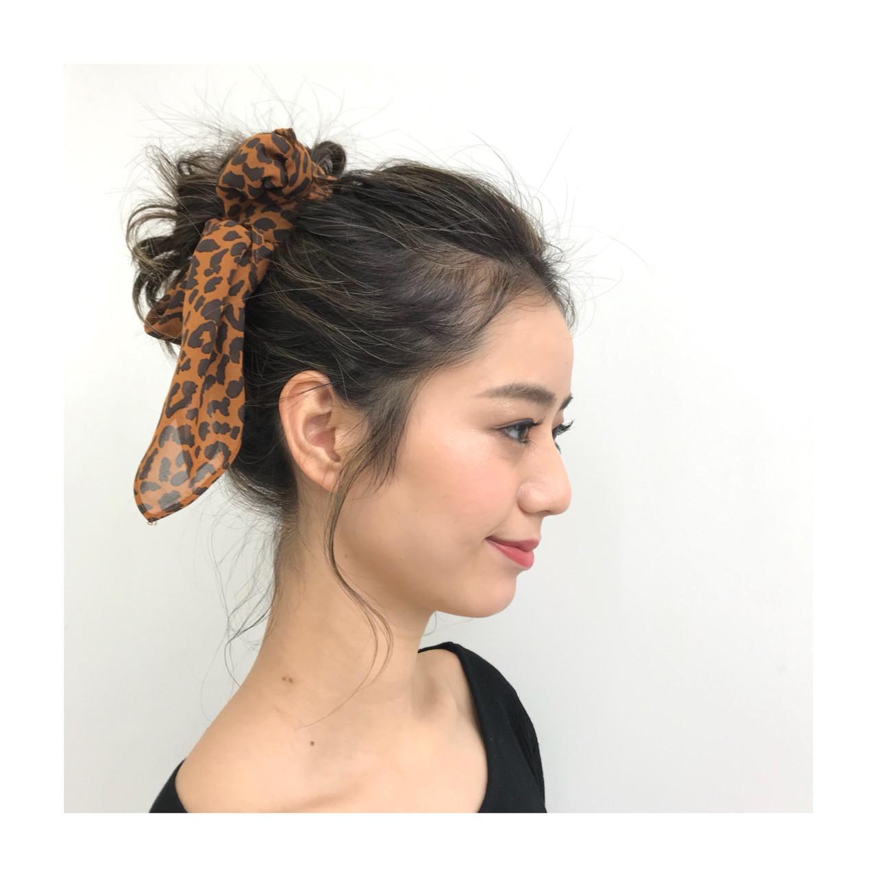 フェミニン ロング コントラストハイライト ジェシカライツカラー ヘアスタイルや髪型の写真・画像