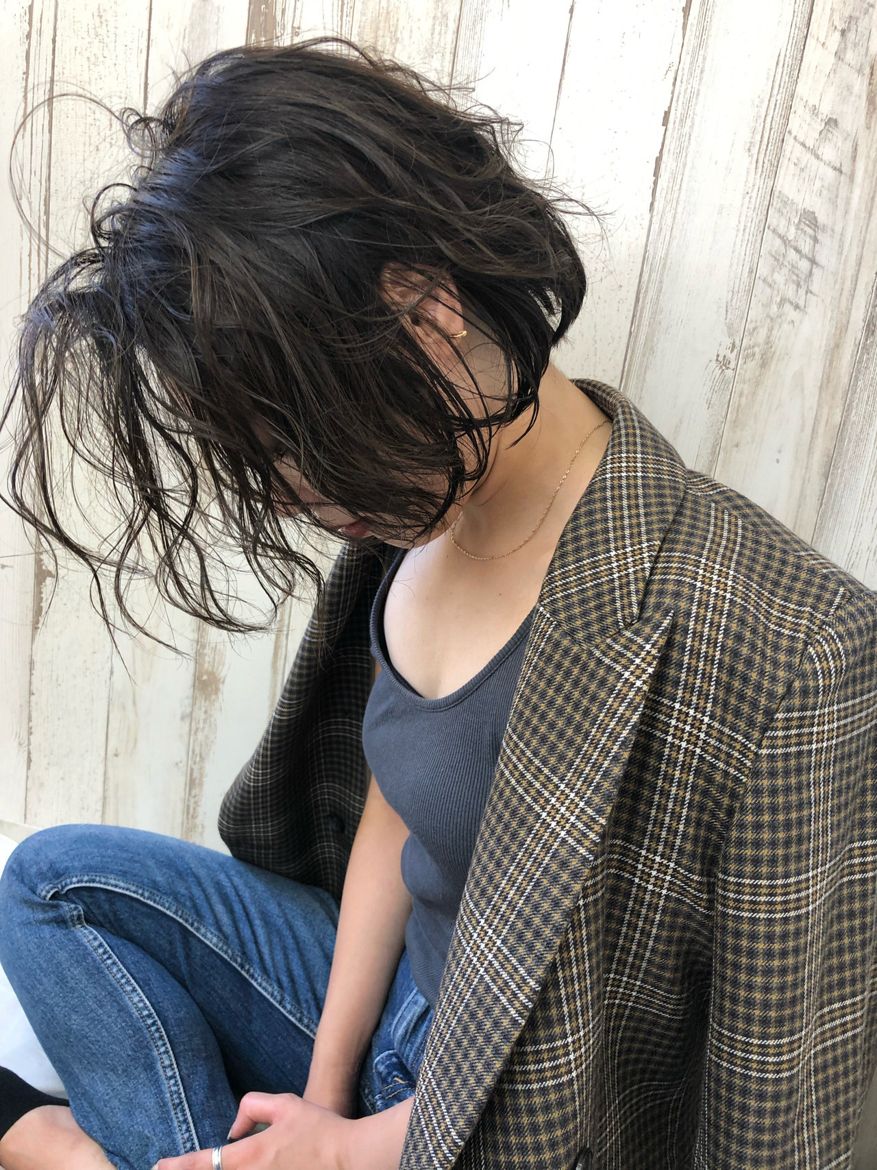 黒髪 ボブ アウトドア 透明感カラー ヘアスタイルや髪型の写真・画像