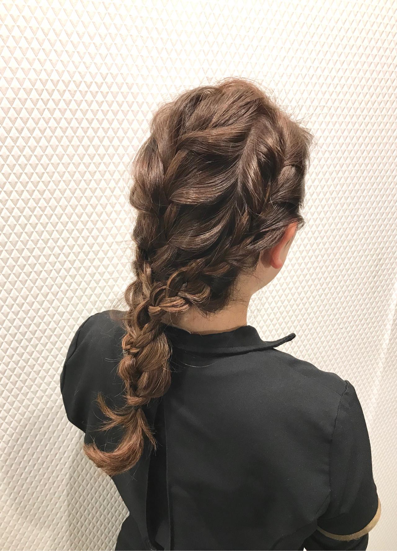 大人カジュアル ナチュラル 簡単ヘアアレンジ カジュアル ヘアスタイルや髪型の写真・画像