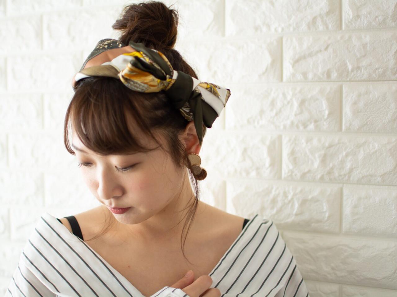 ナチュラル ヘアアレンジ 簡単ヘアアレンジ n. ヘアスタイルや髪型の写真・画像