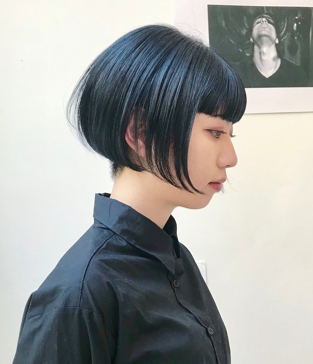ハンサムショート モード ショート ショートボブ ヘアスタイルや髪型の写真・画像