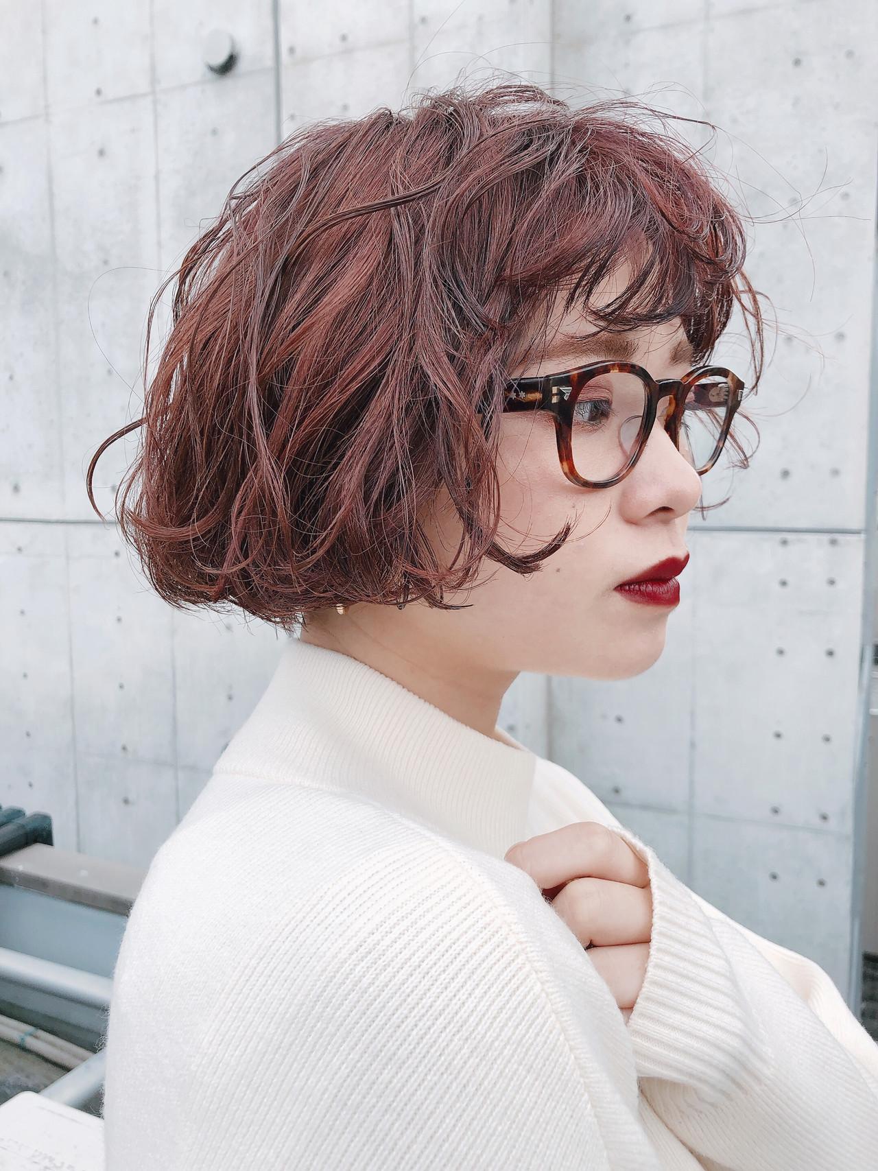 ピンクアッシュ ナチュラル ラベンダーピンク アンニュイほつれヘア ヘアスタイルや髪型の写真・画像