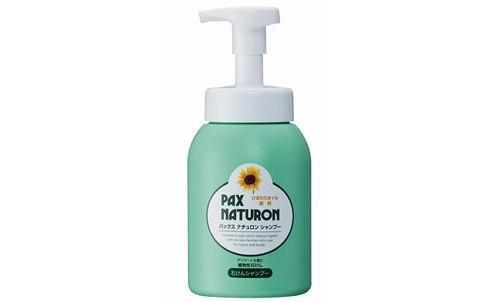 優しい泡で洗う「パックスナチュロン 泡ポンプ式 シャンプー 500ml」