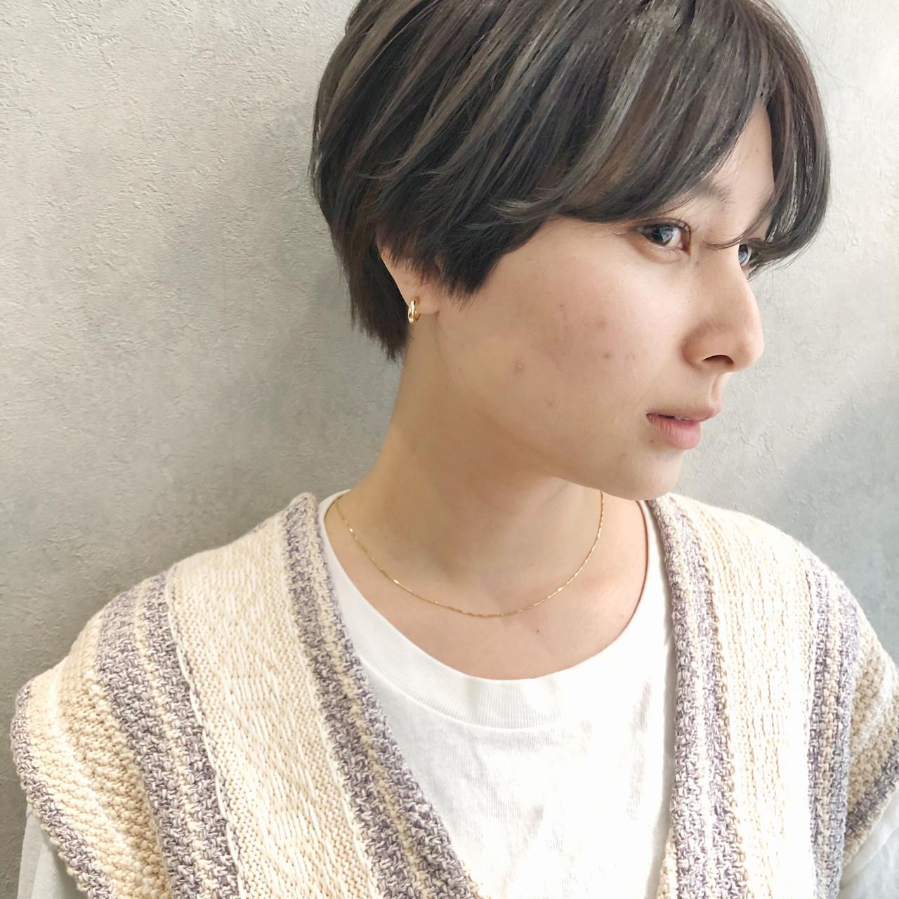 ショート ベリーショート ショートヘア 髪質改善 ヘアスタイルや髪型の写真・画像