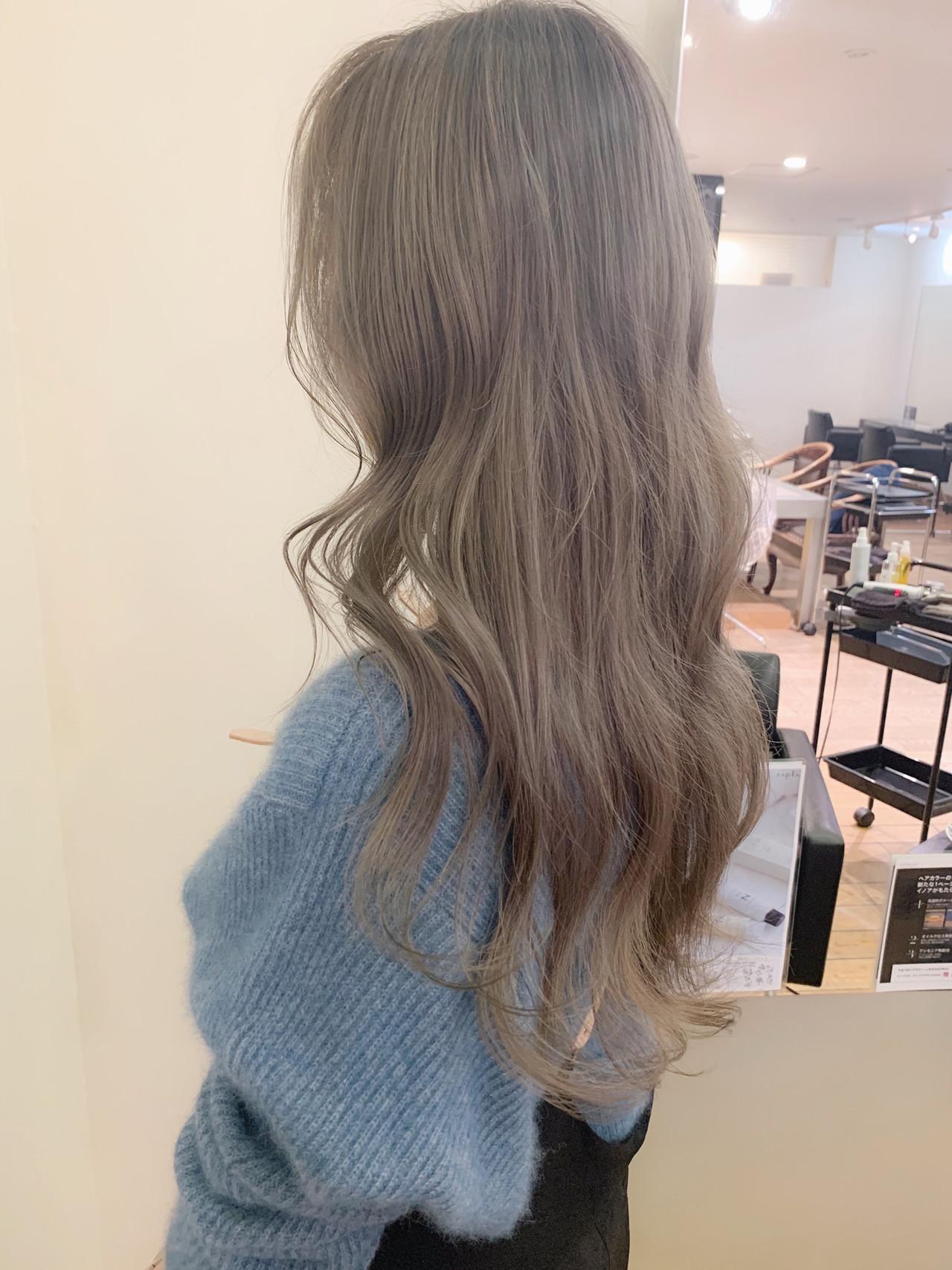 ゆるふわ ロング 波ウェーブ 大人かわいい ヘアスタイルや髪型の写真・画像