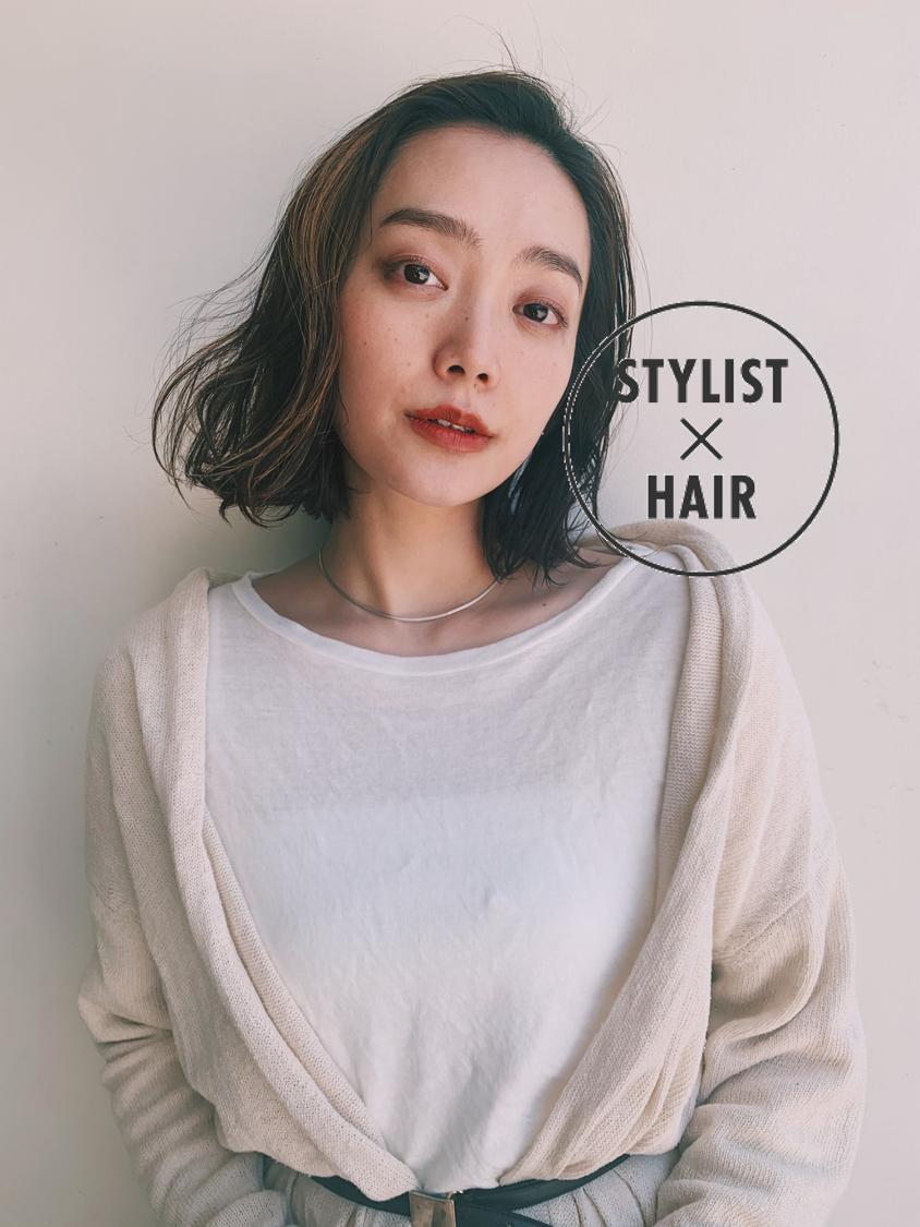 ウェットヘア 大人ヘアスタイル 大人女子 ウェット感 ヘアスタイルや髪型の写真・画像