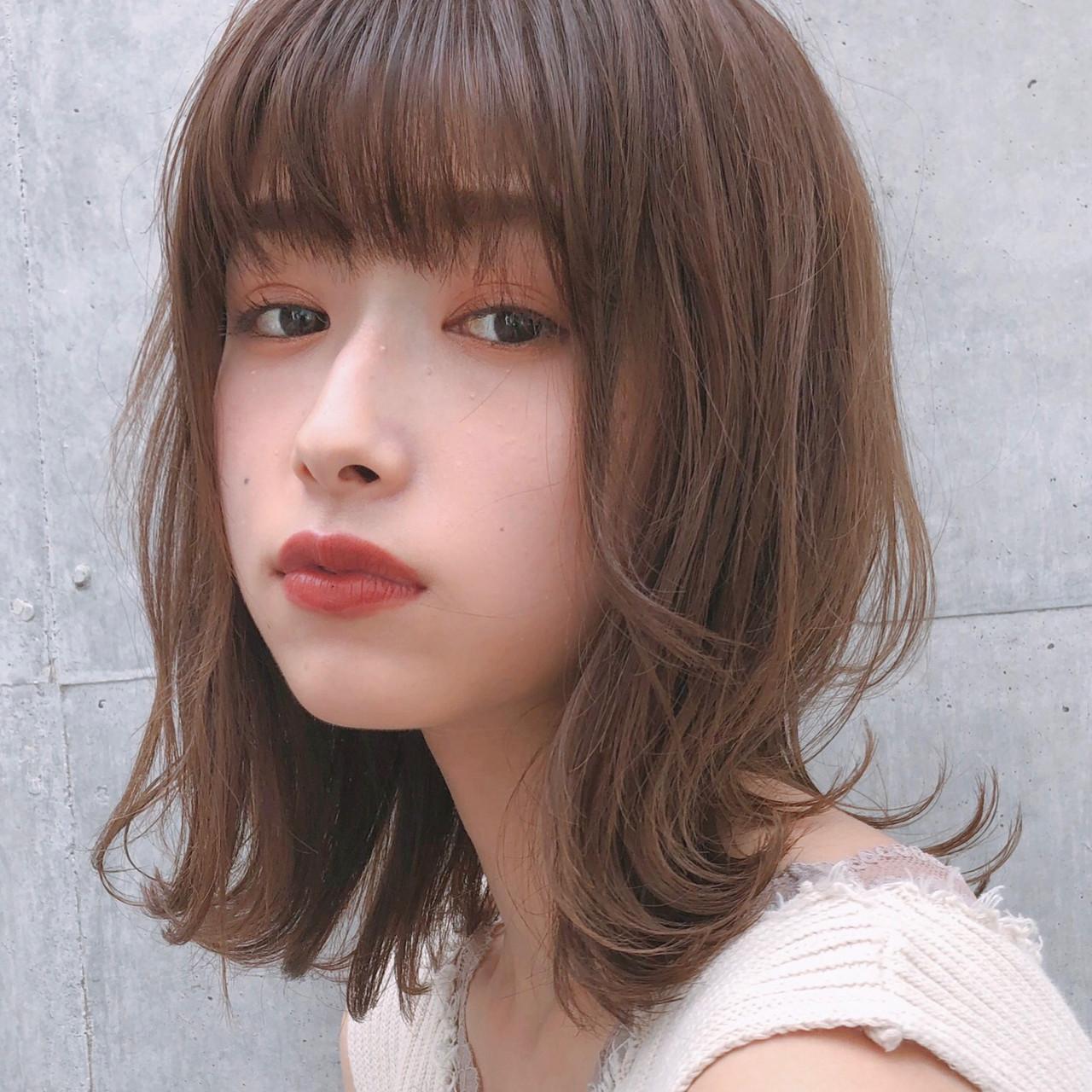 デート 大人かわいい ナチュラル 愛され ヘアスタイルや髪型の写真・画像