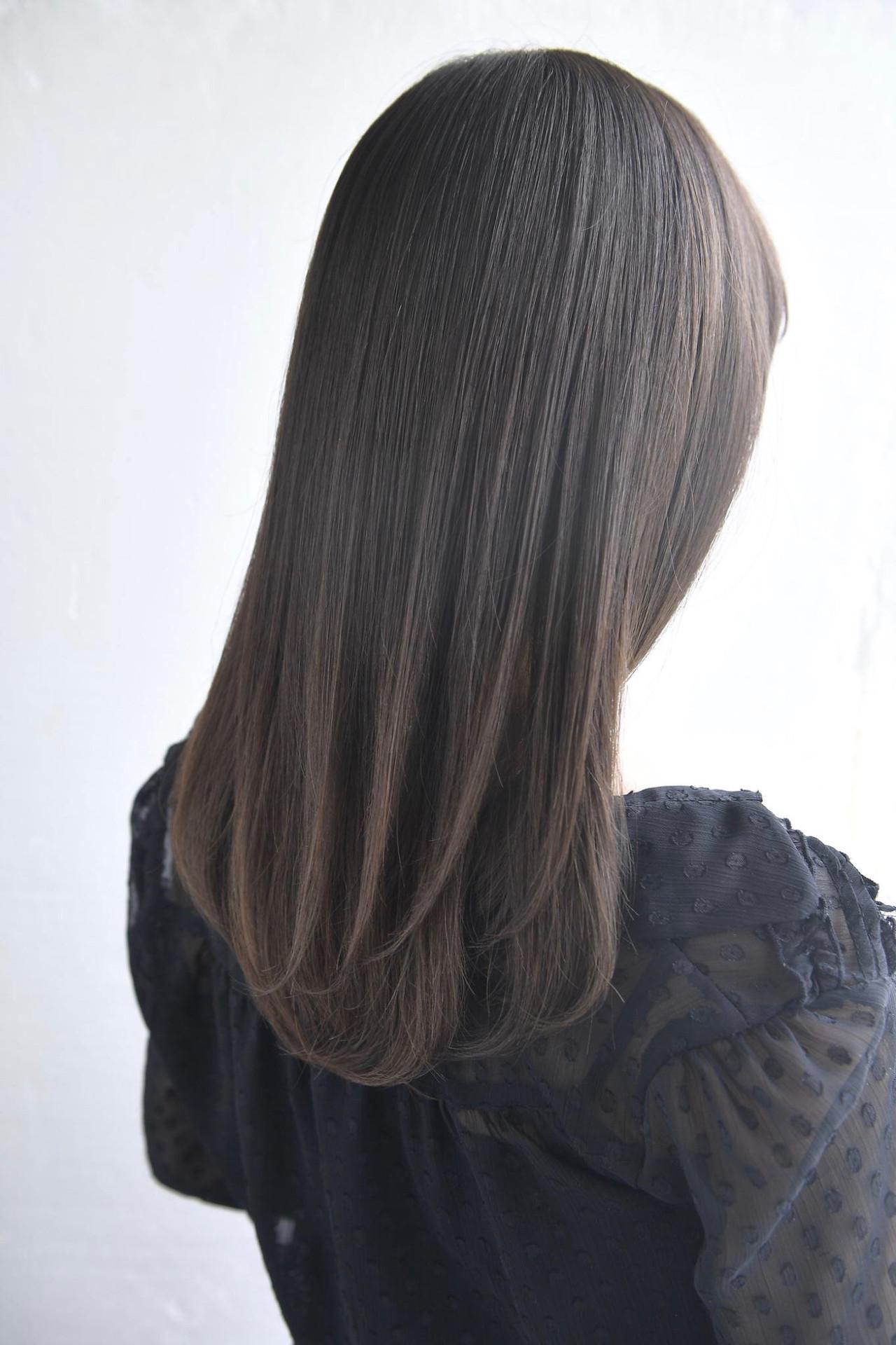 可愛い ナチュラル トリートメント 美髪 ヘアスタイルや髪型の写真・画像
