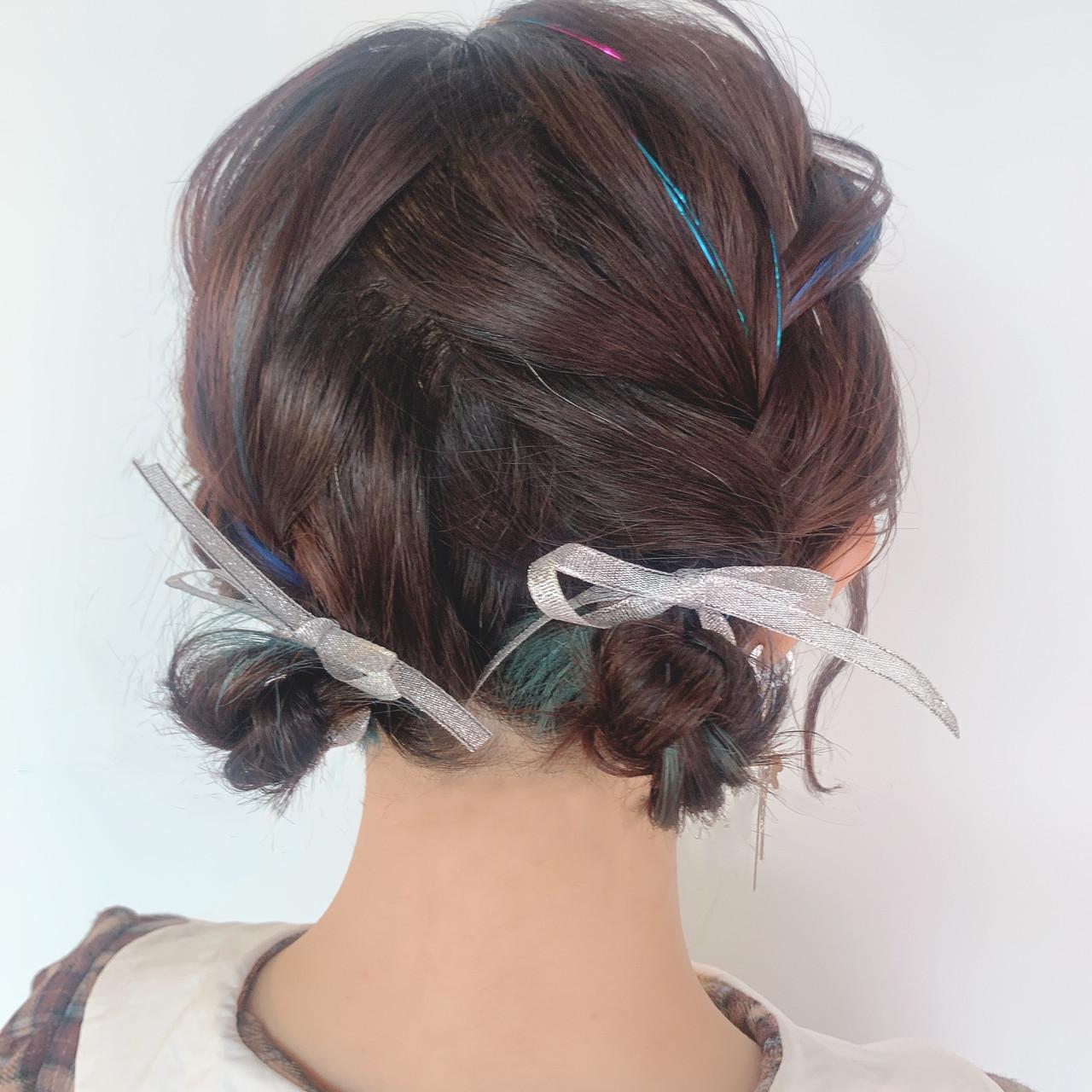 結婚式ヘアアレンジ ヘアアレンジ 簡単ヘアアレンジ デート ヘアスタイルや髪型の写真・画像
