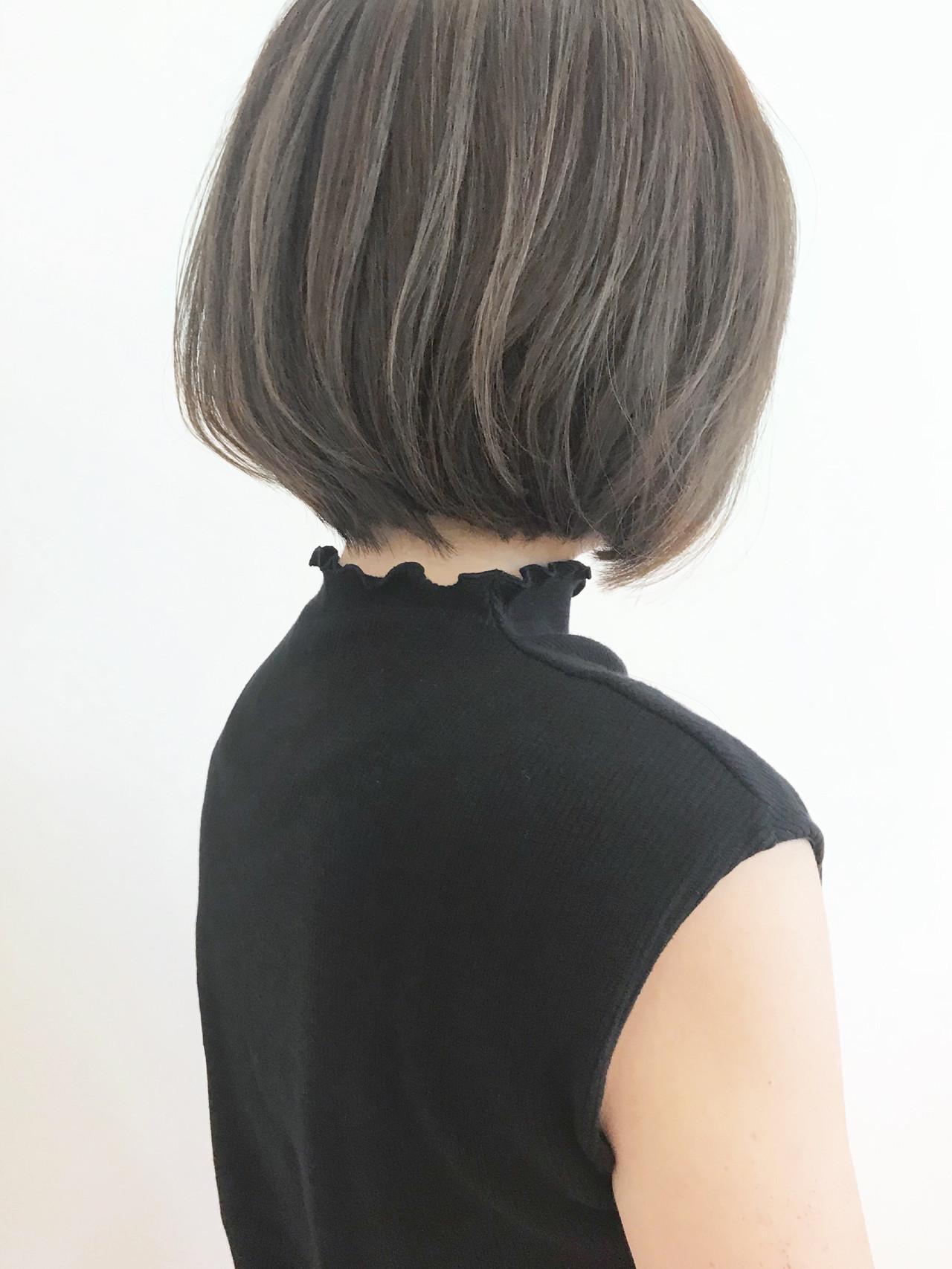 ショートボブ ボブ ミニボブ ショートヘア ヘアスタイルや髪型の写真・画像