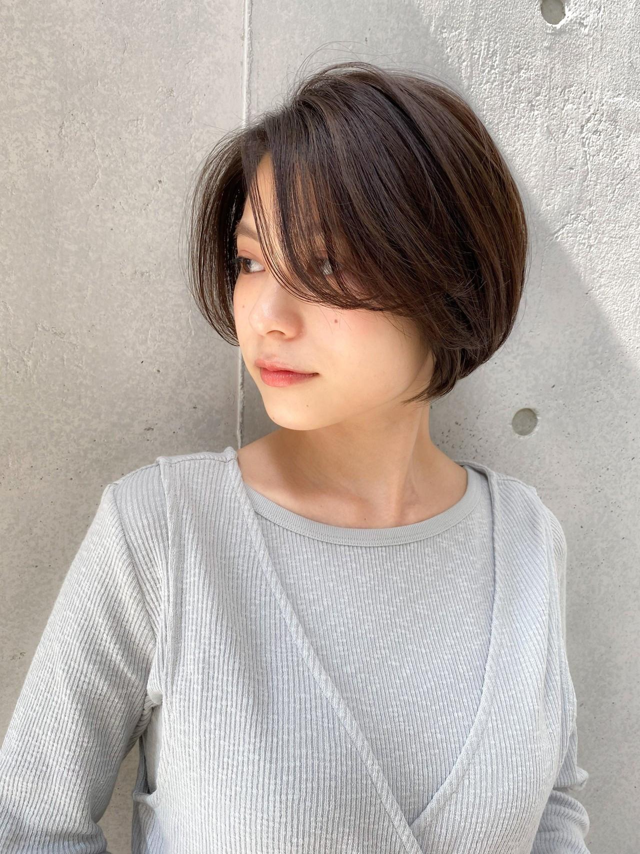 ナチュラル ハイライト デジタルパーマ 大人かわいい ヘアスタイルや髪型の写真・画像