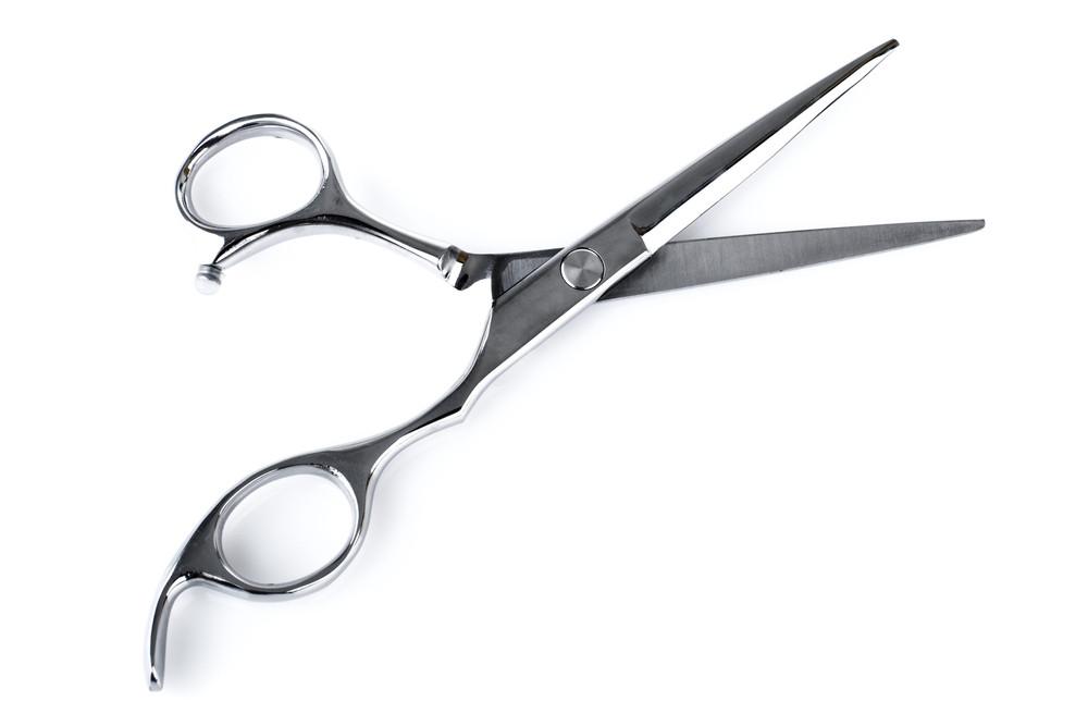 髪切りハサミ